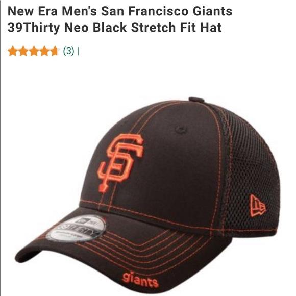 San Francisco Giants 39Thirty Neo Black Hat S/M